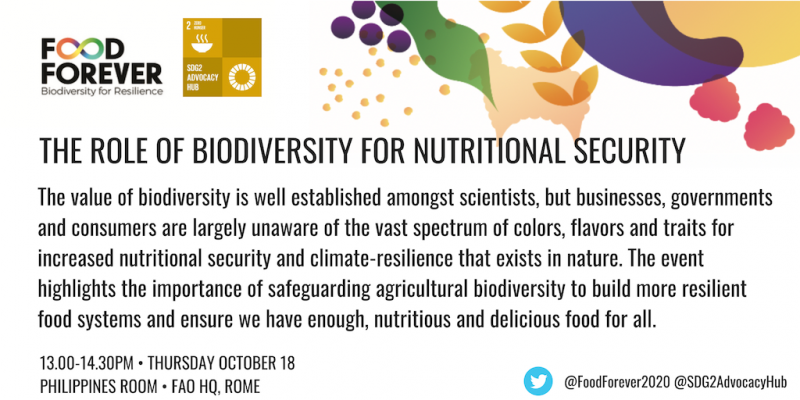 Biodiversity for Nutrition