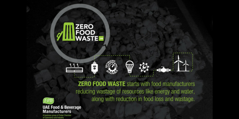 Dubai's Zero Food Waste Infographic