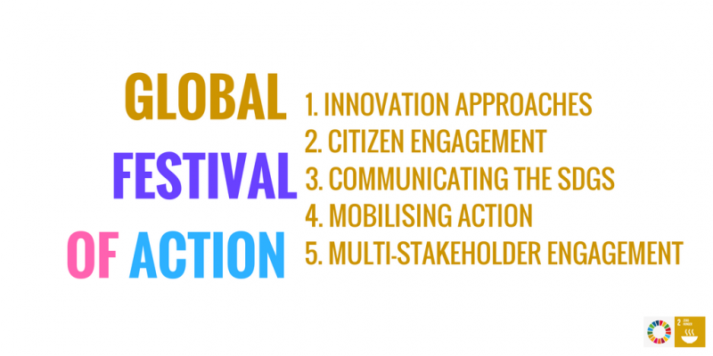 Global Festival of Action Social card